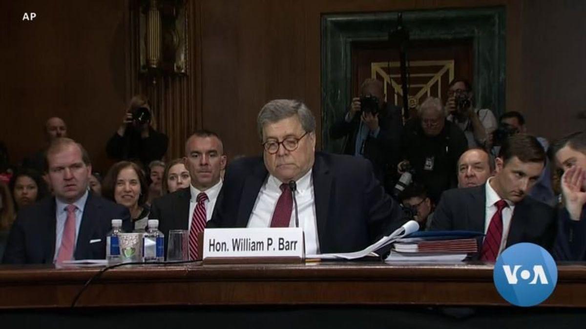 Democrats Grill Barr Over Handling of Mueller Report