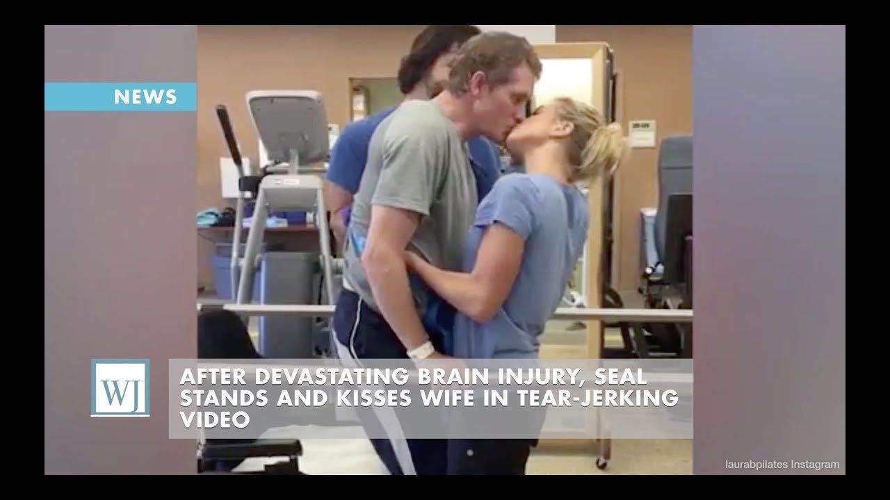 After Devastating Brain Injury, SEAL Stands And Kisses Wife In Tear-Jerking Video