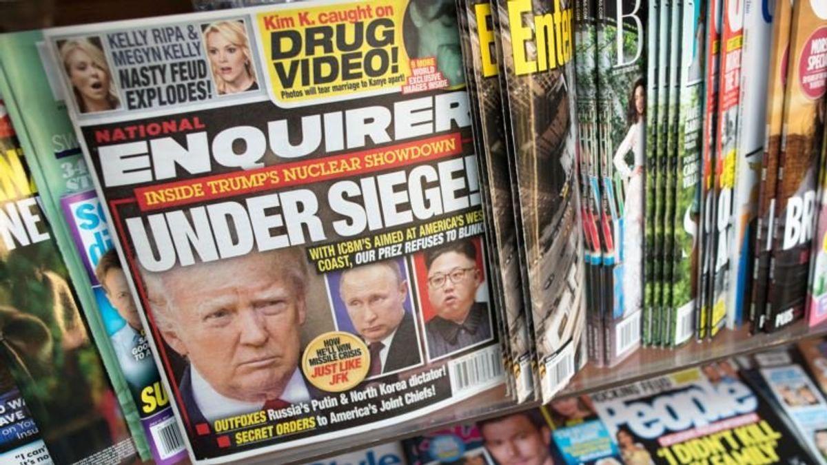 Relationship Between Trump, Enquirer Goes Beyond Headlines