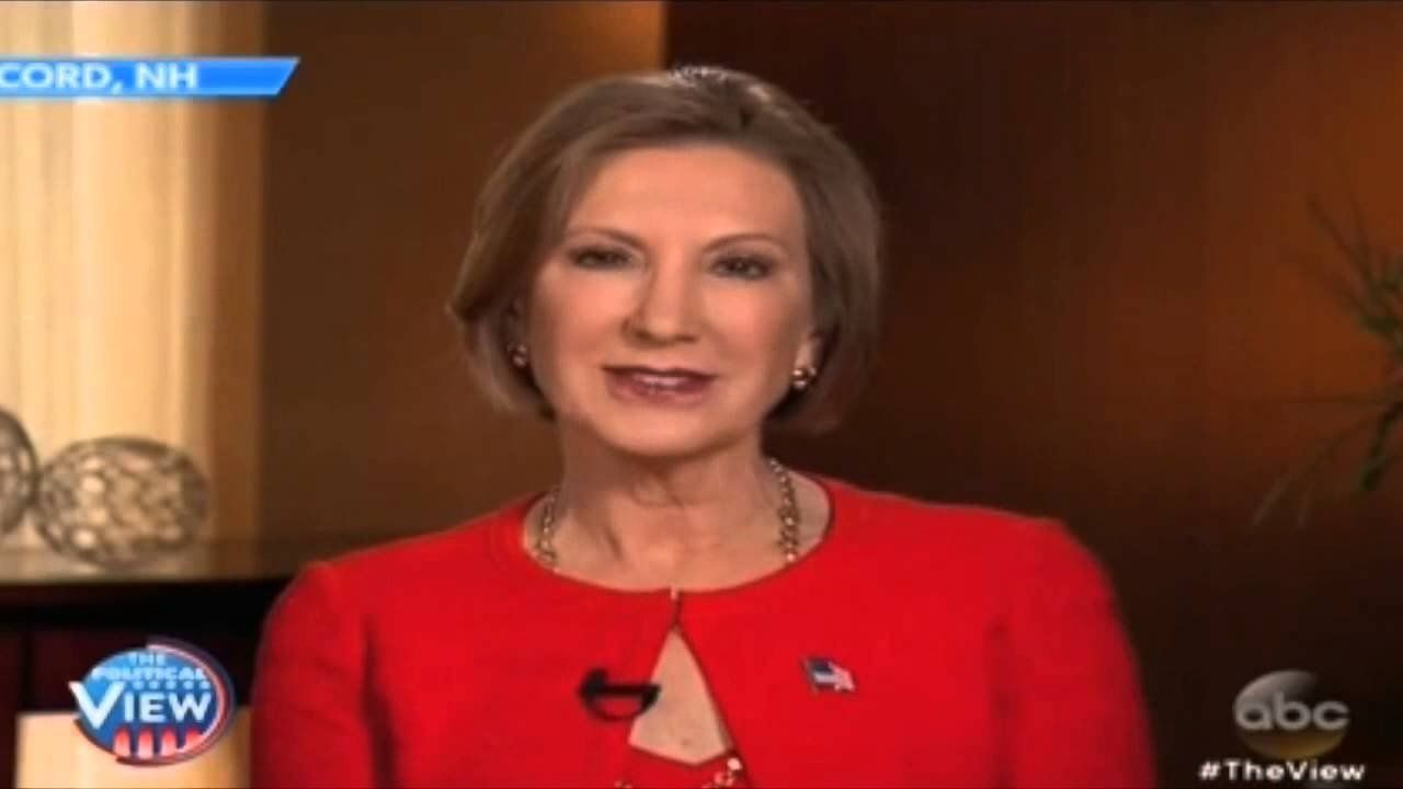 Fiorina takes on 'The View'