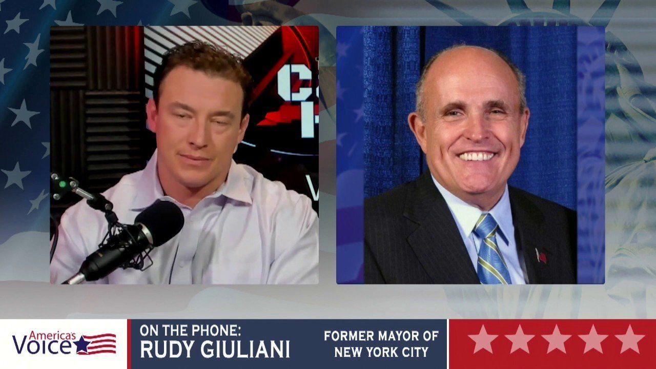 The Carl Higbie Show – Rudy Giuliani Interview