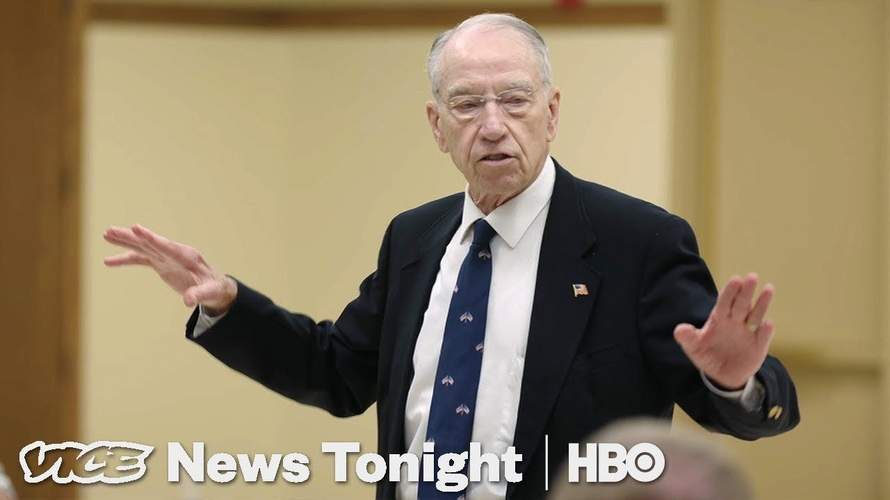 Inside Sen. Chuck Grassley's Town Hall After the El Paso and Dayton Shootings