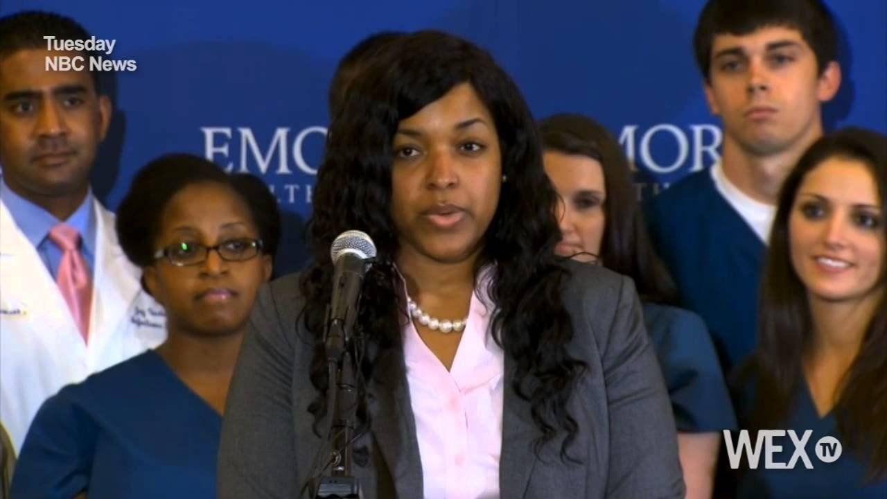 Dallas nurse Amber Vinson discharged after Ebola treatment