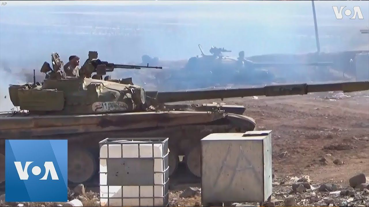 Syrian Troops Seized Hilltop Village and Nearby Town