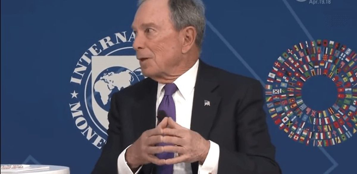 Mike Bloomberg Is The Racist, Sexist, Elitist Id of the Democrat Party