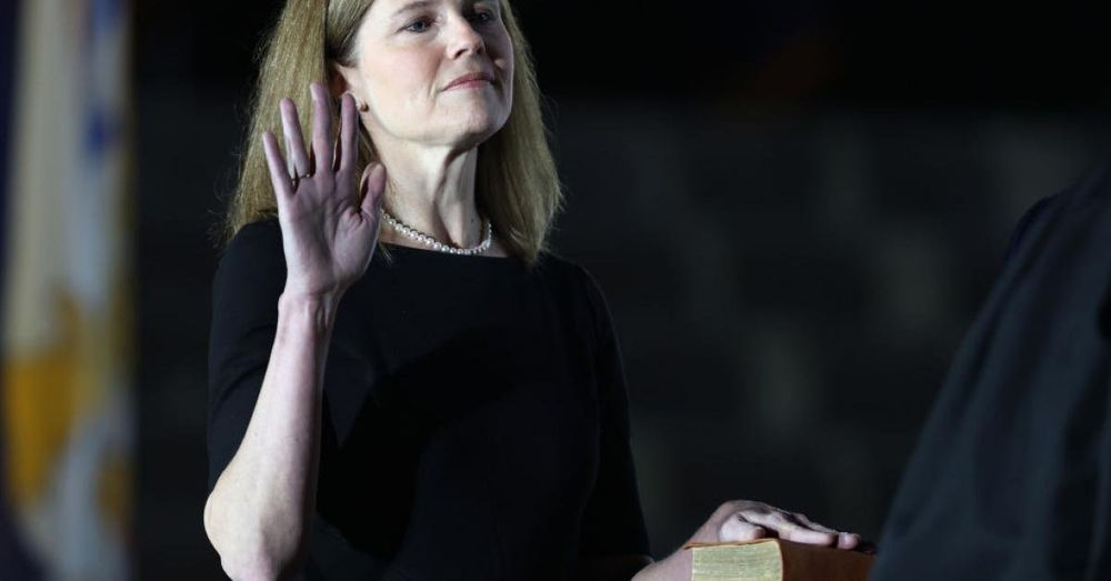 Justice Amy Coney Barrett has authored her first Supreme Court opinion