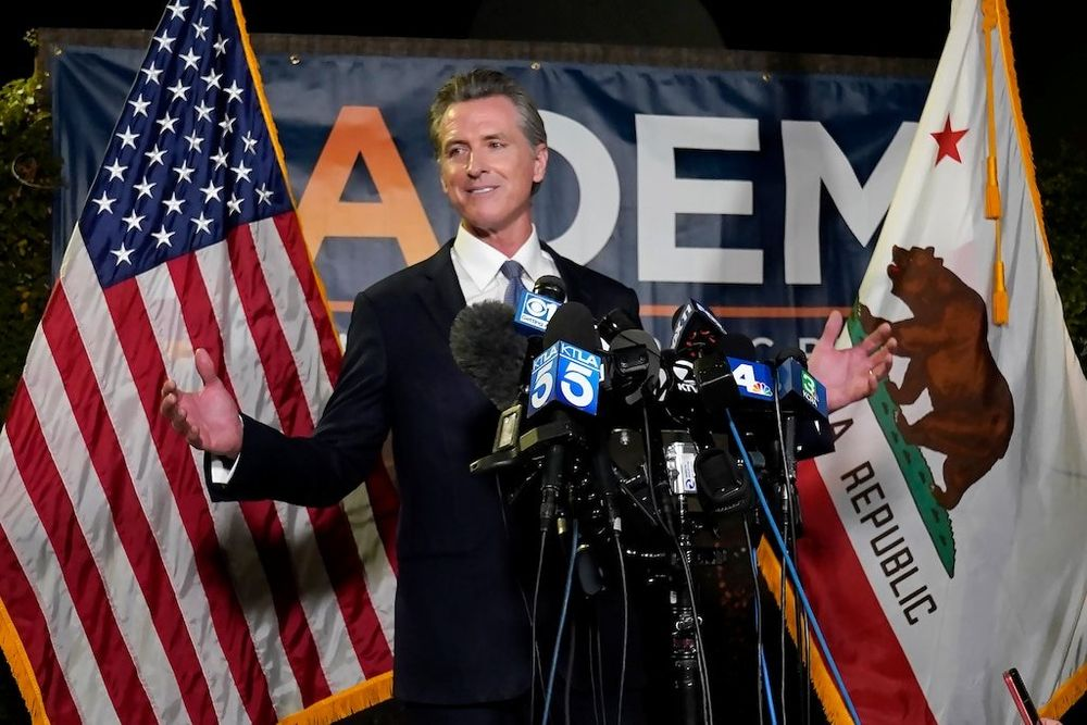 California Voters Reject Attempt to Remove Gov Newsom in Recall Election