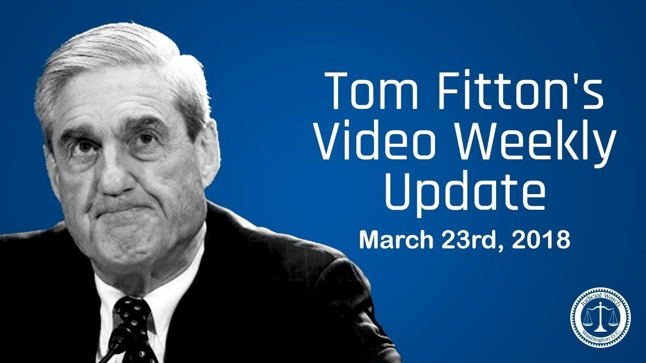 'Mueller Special Counsel has SERIOUS Ethical & Constitutional Issues' – JW President Tom Fitton