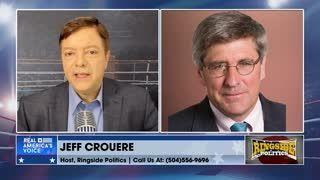 """People are falling further behind under Biden."" - Jeff Crouere"