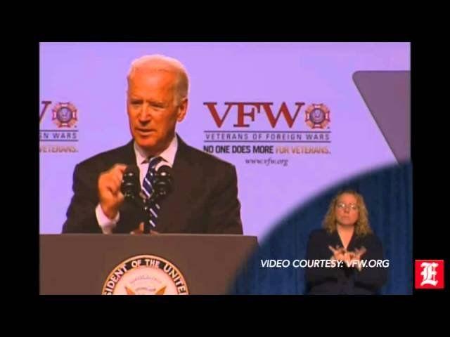 Joe Biden to veterans: Fixing Veterans Affairs is a 'sacred obligation'