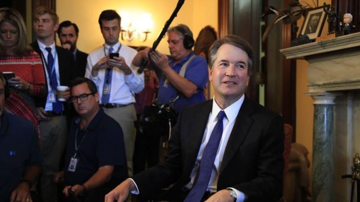 Senate Democrats Ask for Documents Before Kavanaugh Meetings