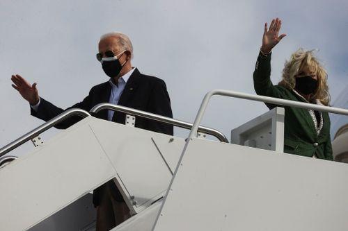 Biden Visits Texas to Survey Storm Damage