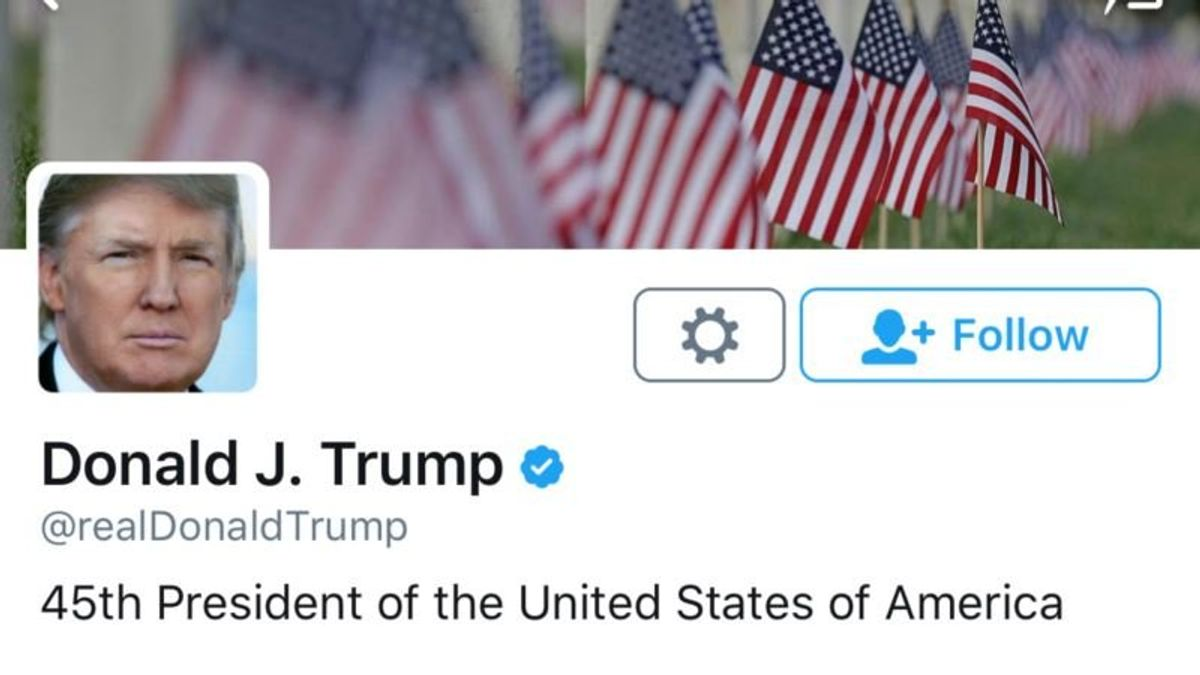US Justice Dept. Appeals Ruling that Trump Can't Block Twitter Followers