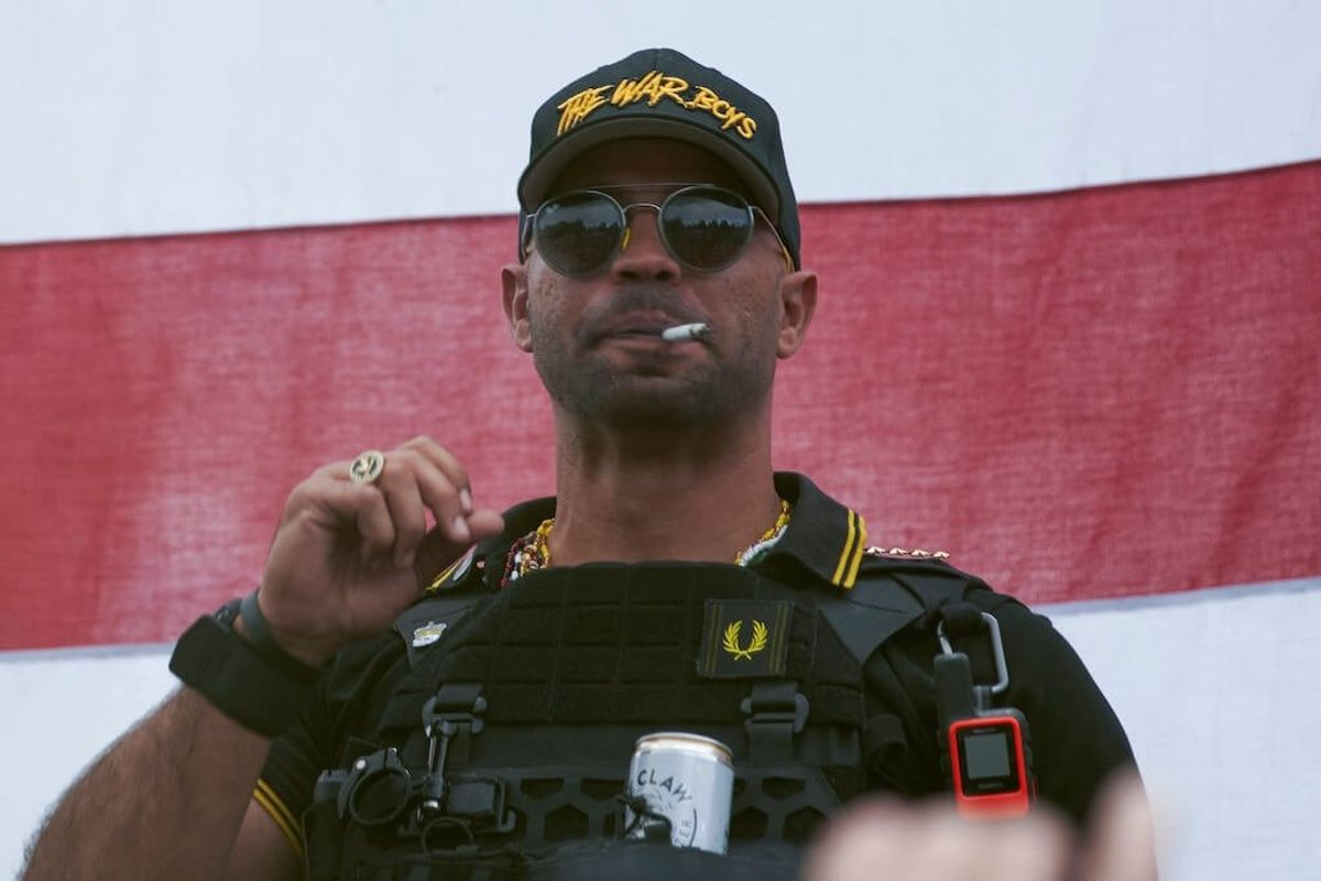 Proud Boys Leader Ordered to Stay Out of DC