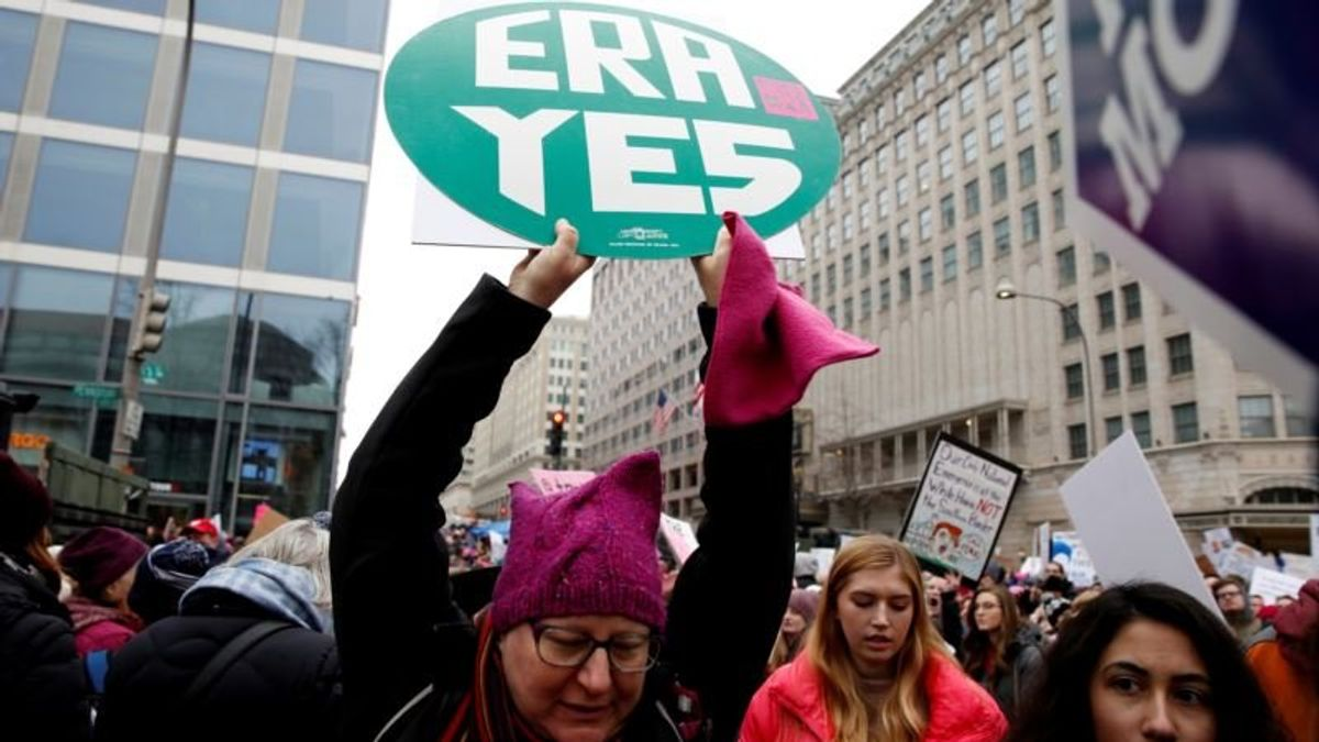 Decades-old Fight for Women's Equal Rights Goes Before US Lawmakers