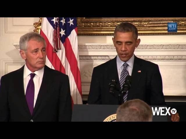 Defense Secretary Chuck Hagel stepping down