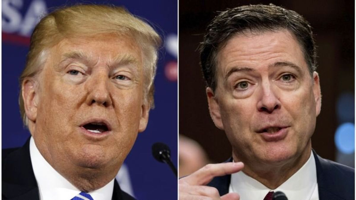 Comey Called 'Machiavellian' in Trump Lawyers' Memo to Mueller