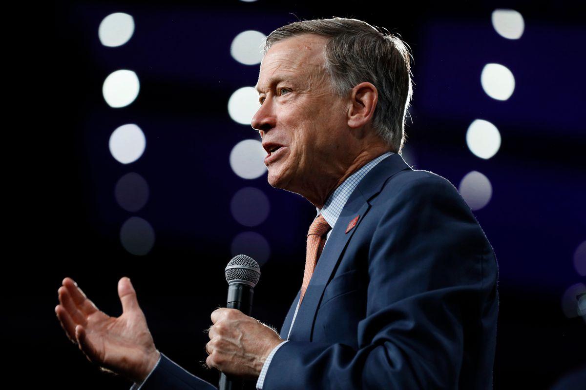 Hickenlooper Ends White House Bid, Weighs 2020 Senate Run