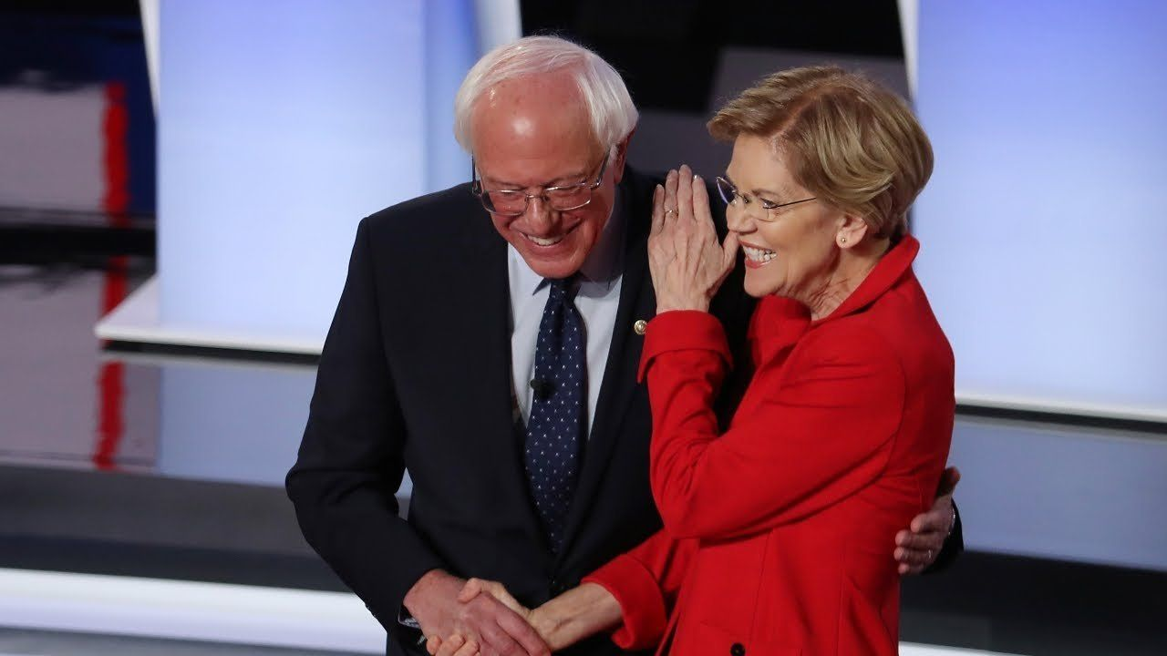Poll puts Biden, Sanders and Warren in 3-way tie