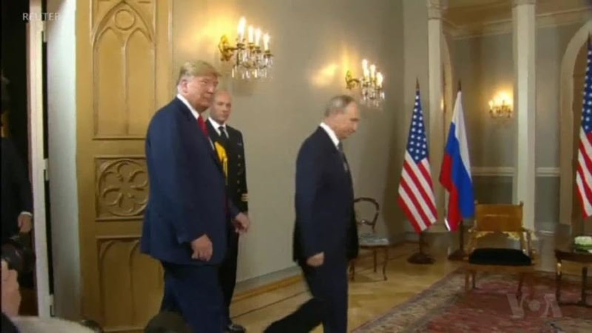 State Department Denounces Russia's Demand to Interrogate Americans, Trump Does Not