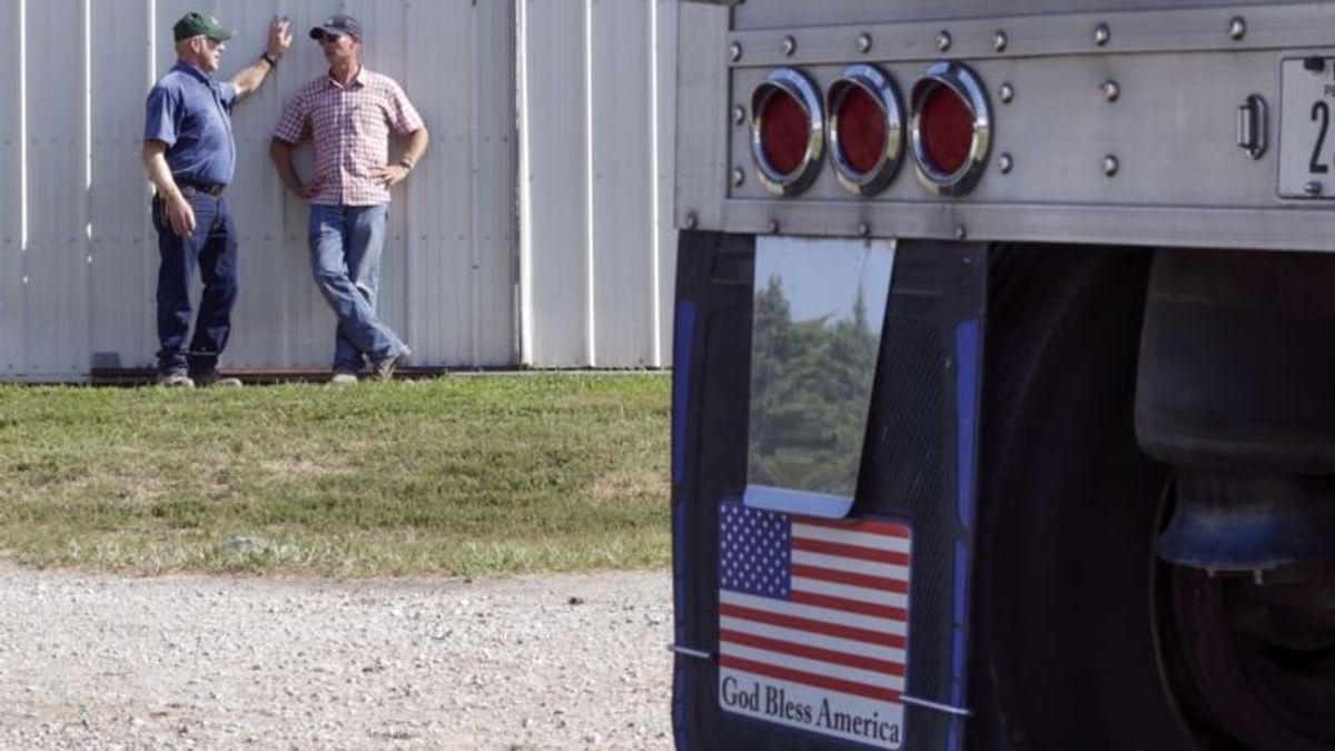 Trump Attacks China's Tariffs on US Farm Products