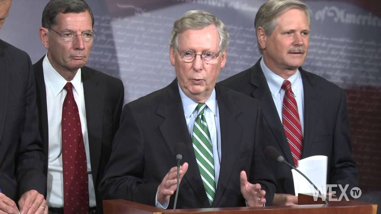 Mitch McConnell, Alison Lundergan Grimes lead in separate polls