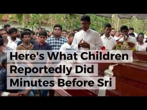 Here's What Children Reportedly Did Minutes Before Sri Lankan Bomb Went Off