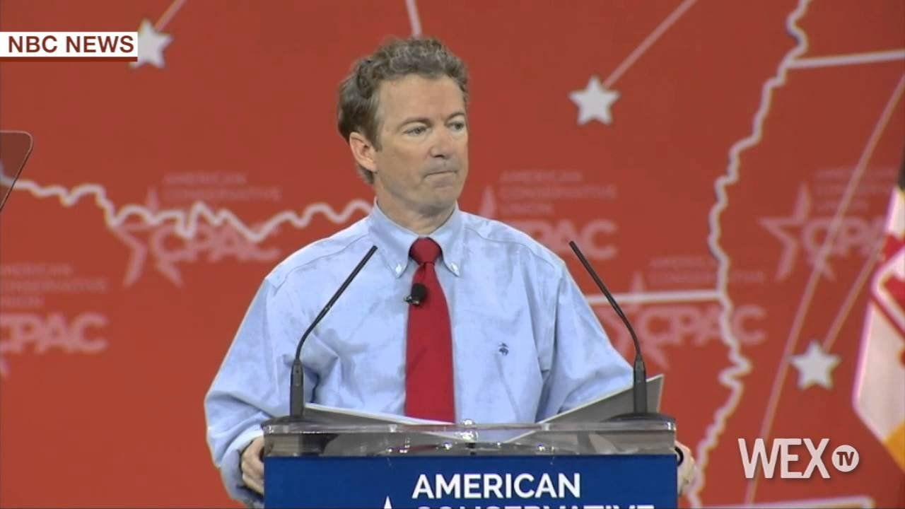 Rand Paul pushes term limits at CPAC