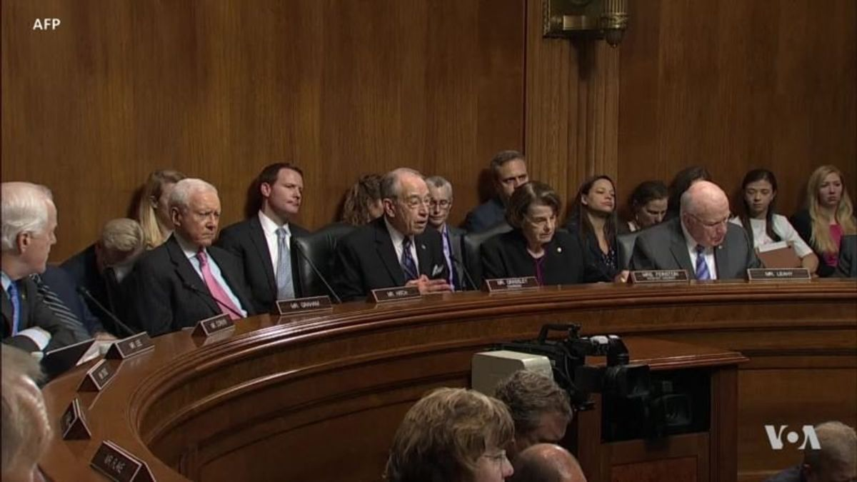 Kavanaugh and Accuser Face Off in Dramatic Hearing