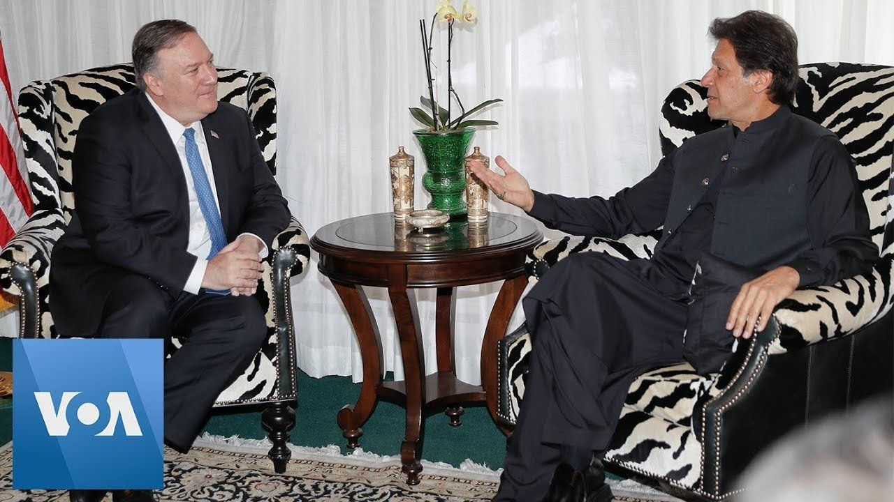 Secretary Mike Pompeo Meets with Pakistan Prime Minister Imran Khan