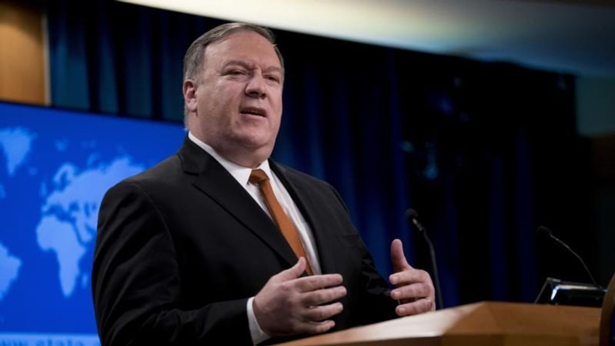 Pompeo: US Would Win Trade War with China