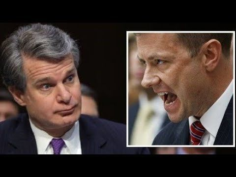 STRZOK SUES FBI AS NEW ALLEGATIONS THAT DIR. WRAY KNEW OF HIS SCANDALS WITH TV ANCHORS EMERGE.