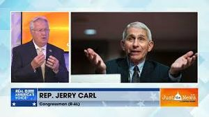 Rep. Jerry Carl says it's worth looking into whether Dr. Fauci had profit motives regarding Covid-19