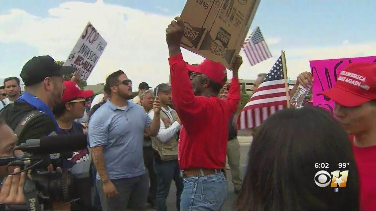 Team Coverage Of President Trump's Visit To El Paso