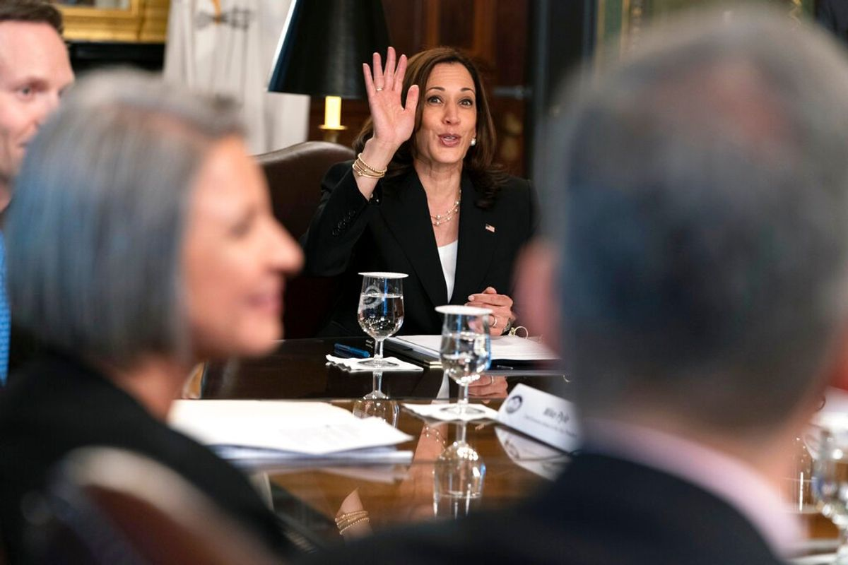 Microsoft, Mastercard Sign on to VP Harris' Central America Strategy