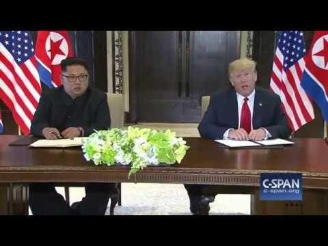 U.S. – North Korea Signing Ceremony (C-SPAN)