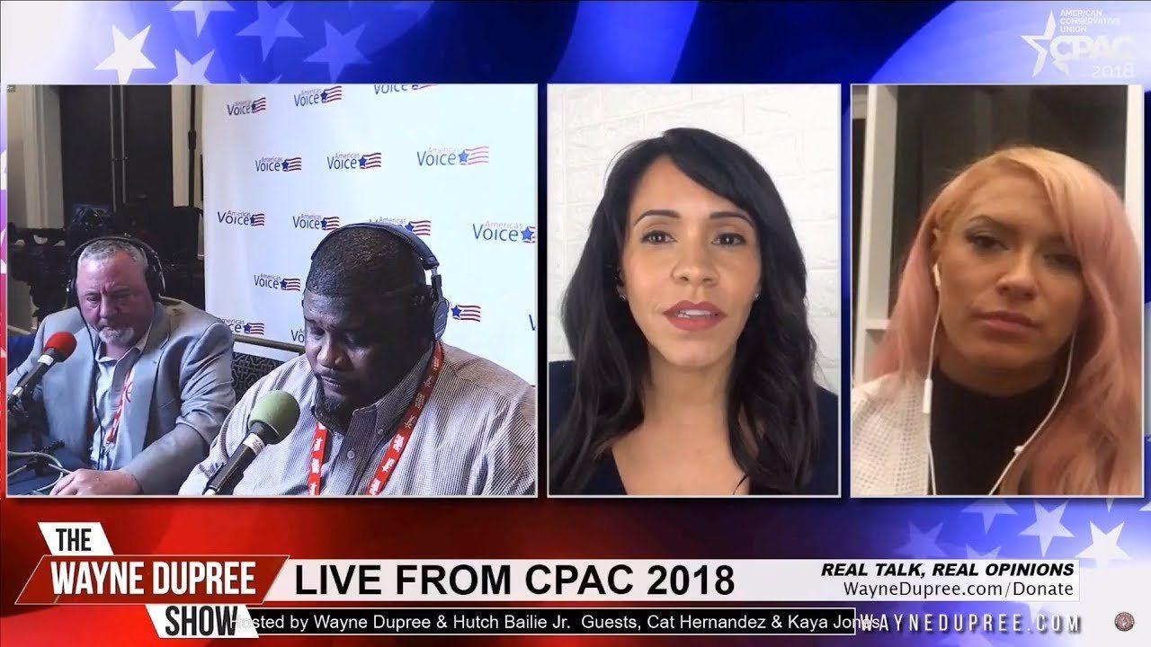 The Wayne Dupree Show with Kaya Jones | Live at CPAC 2018