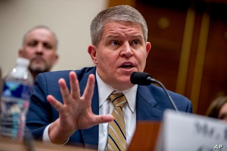 FILE - In this Sept. 25, 2019, file photo Giffords Law Center Senior Policy Advisor David Chipman speaks at a House Judiciary…