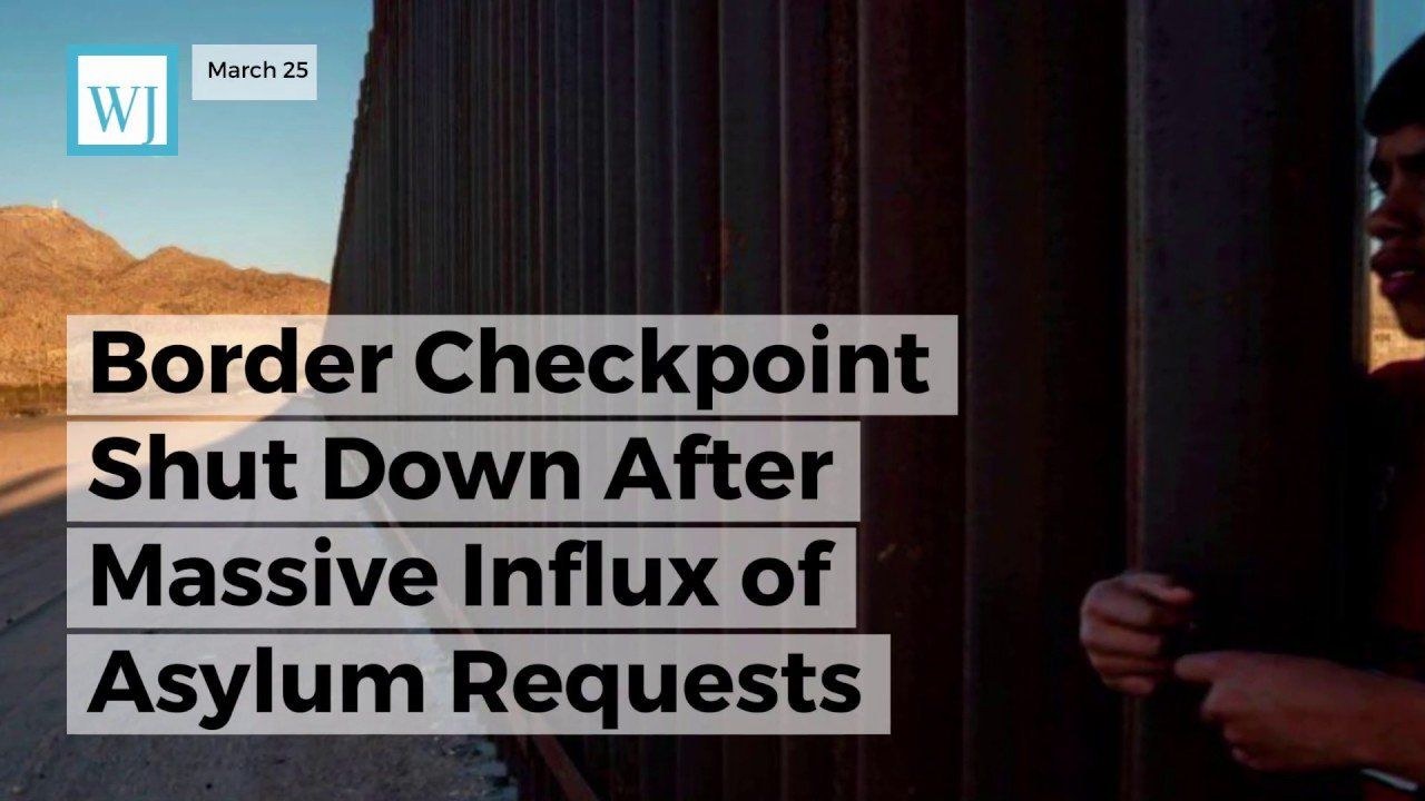 Border Checkpoint Shut Down After Massive Influx of Asylum Requests