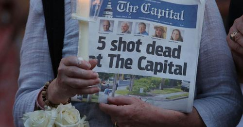Capital Gazette shooter sentenced to five life in prison terms for the 2018 mass shooting