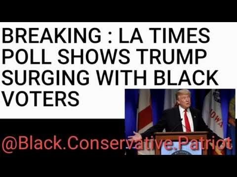 Trump Support Rising Among Black Voters