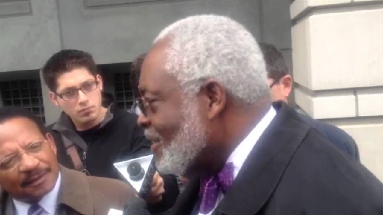 Kwame Brown attorney Fred Cooke answers questions