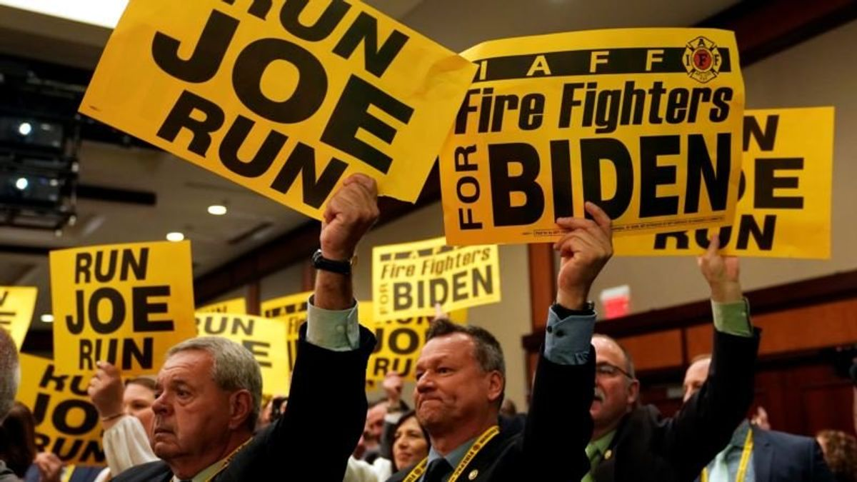 Biden Edges Closer to Presidential Run
