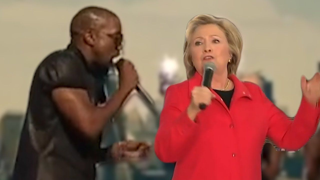 """""""I'm gonna let you finish…""""  love or hate Kanye, add Trump and you will always be entertained"""