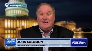 JOHN SOLOMON INTERVIEW WITH TUDOR DIXON AND STEVE GRUBER DISCUSS WHY HE'S NOT WORRIED.