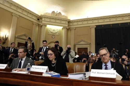 US Constitutional Scholars Testify at Trump Impeachment Hearing