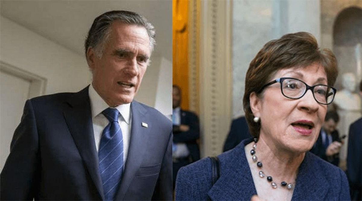 Collins, Romney join Dems in 51-49 vote against impeachment witnesses