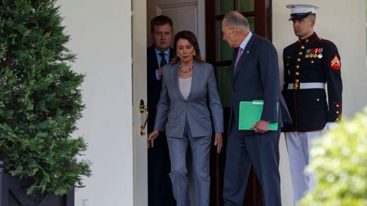 Trump, Democrats Debate What to Debate: Infrastructure or Trade