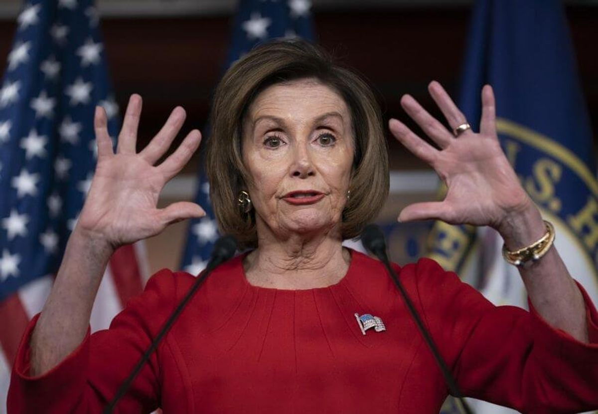 The Final Destruction of Speaker Nancy Pelosi
