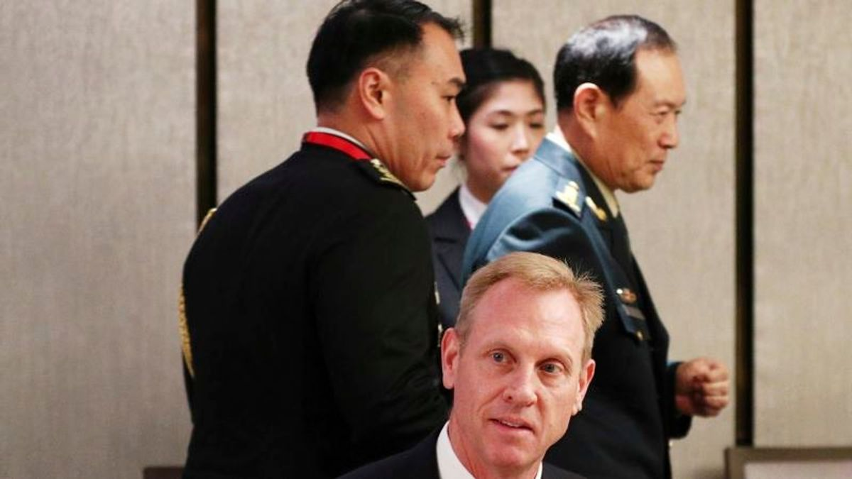 Acting US Defense Chief Criticizes China's Bad Behavior